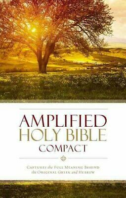 Amplified Holy Bible, Compact, Hardcover Captures the Full Mean... 9780310443995