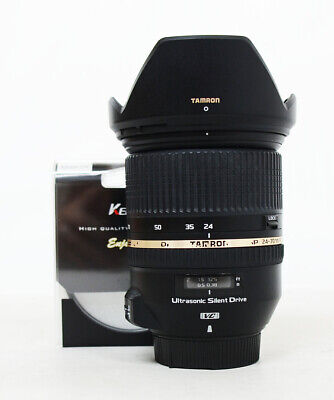 # Tamron SP A007 24-70mm F/2.8 Di VC USD Lens For Nikon + Filter 081930