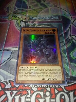 Yugioh Iron Dragon Tiamaton Ultra FLOD unl NM
