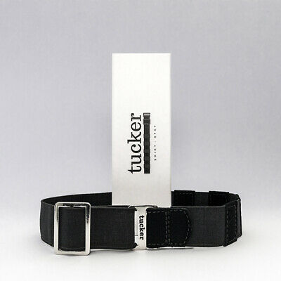 Tucker Shirt Stay keep your shirt tucked belt Suit - black
