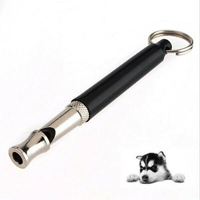 Dog Whistle Stop Barking Ultrasonic Sound Repeller Train With Strap TCES