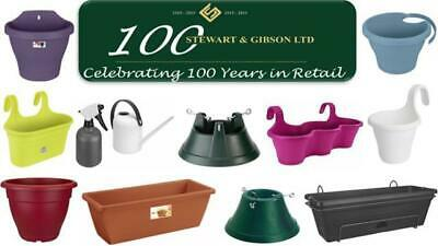 Elho Gardening Planters, Troughs, Hangers And Accessorie For Flowers - Assorted