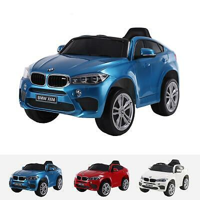 BMW X6M Ride On Car Electric Car for Kids 12V Battery Powered LED Lights Music