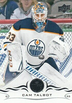 2018/19 Upper Deck Series One Base Cam  Talbot  Oilers Number 74