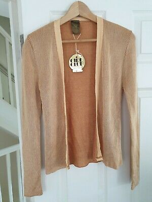 Vintage Gold Cardigan Size XS/S