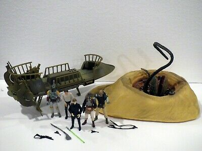 Star Wars BATTLE AT THE SARLACC PIT carkoon 100% COMPLETE legacy collection TLC