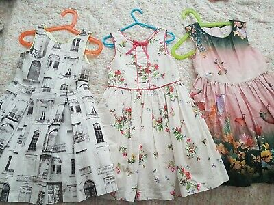 Girls next dress bundle age 5-6 years