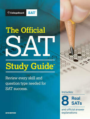 The Official SAT Study Guide, 2018 Edition by The College Board |E-Bo0ks, 2018