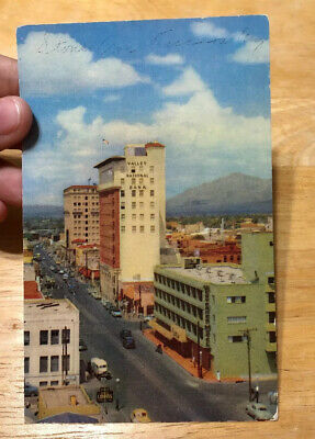 Zg764 Valley National Bank Stone Avenue Tucson Arizona Postcard Unsent