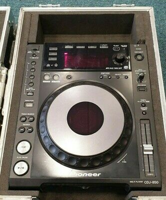 Pioneer CDJ 850 CD/USB/PC/Controller DJ and Media Player - With Case - WORKING