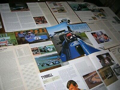 TYRRELL - the Jackie Stewart years (-1973) Articles, cuttings & F1 race reports