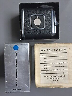 Hasselblad A12 Film Back - 120 Roll film magazine