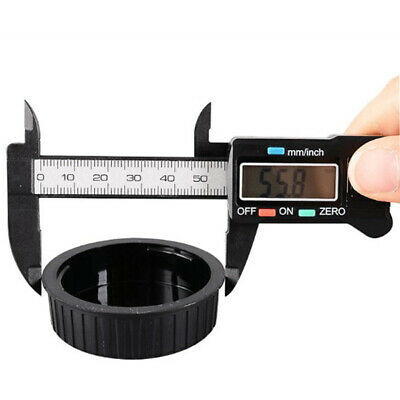 "Silver Digital Caliper With LCD 150mm 6"" Electronic Display Tool"