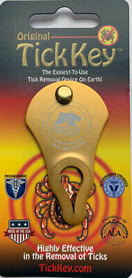 Original Tick Key Tick Removal Device - Portable, Safe and Highly Effective Tick