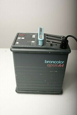 Broncolor Opus A4 3200ws -  tested fully working