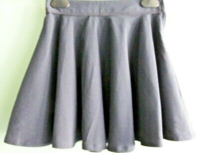 NEW GIRLS EX STORE NAVY FLARED ADJUSTABLE WAIST SCHOOL SKIRT AGE 2-10 years AA20