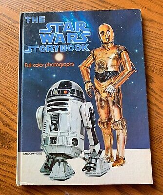 Vintage The Star Wars Storybook 1978 Book with Full-Color Photographs
