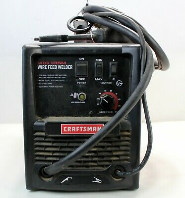 Craftsman MIG 135M Gas/Gasless Wire Feed Welder Kit