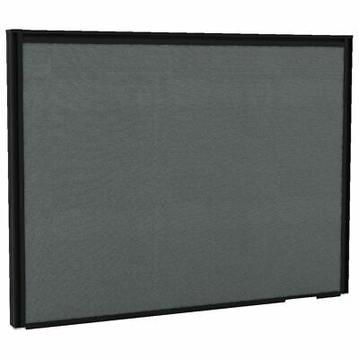 Partition Screen 700 x 525mm Black Frame Grey Board