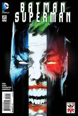 Batman/Superman (2013 series) #21 Cover 2 in NM + condition. DC comics [*5y]