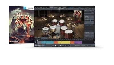 Toontrack The Rock Foundry Sdx Sound Library Expansion Kit For Superior Drummer
