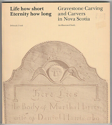 History of Gravestone Carving in Nova Scotia, 18th & 19th C. Great Photos!