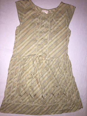 18a5538d4c60 Meadow Rue Anthropologie Konza Embroidered Tunic Dress Size 32 US 0 Xs