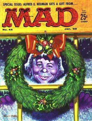 Mad (1952 series) #44 in Very Good + condition. E.C. comics [*37]
