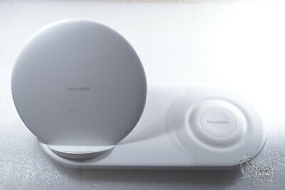 Authentic Samsung 7.5W Wireless Charger Duo - White (Charging Dock Only)