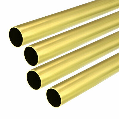 4PCS 11mm x 12mm x 500mm Brass Pipe Tube Round Bar Rod for RC Boat