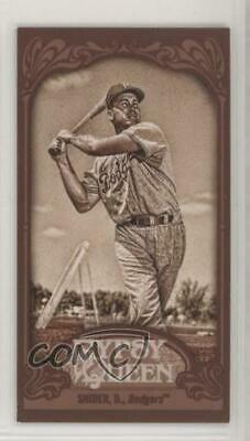 2012 Topps Gypsy Queen Mini Sepia 233 Duke Snider Brooklyn Dodgers Baseball Card