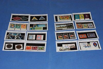 Malaysia large dealer card stock MNH all different nice selection as shown