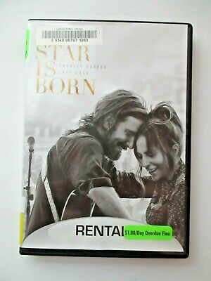 A Star Is Born 2018  (DVD) Bradley Cooper FREE SHIP movie