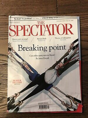 The Spectator Magazine - 9 March 2019 (Brexit - Theresa May & Jeremy Corbyn)