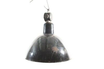 Old Hanging Industrial Lamp Enamel Factory Lamp Lamp Light Vintage