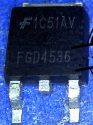 30pcs FGD4536 PDP Power MOSFET 300V 50A TO-252