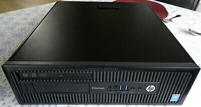 HP Elitedesk 800 G1 Core i3-4160 3.6GHz SFF PC - 4GB RAM/500 HDD Win 10 Office