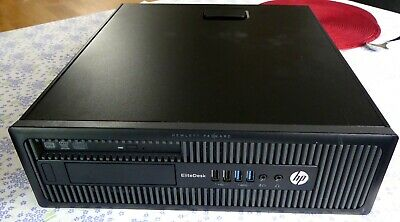 HP Elitedesk 800 G1 SFF Core i5-4570 3.2GHz  4GB RAM/320GB HDD Win 10 Office