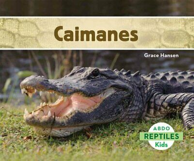 Caimanes by Grace Hansen 9781629703510 | Brand New | Free UK Shipping
