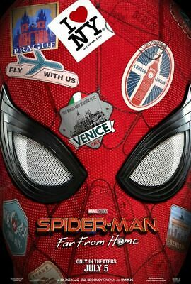 Spider-Man Far From Home (2019) 11 x 17 Studio / Theater Poster *NOT A REPRINT*