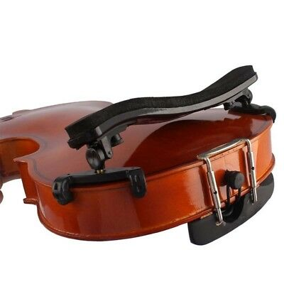Adjustable Violin Shoulder Rest Pad Padded Accessory for 3/4 4/4 Size Violin UK