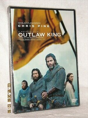 Outlaw King (DVD, 2018) drama Chris Pine Tony Curran Callan Mulvey Billy Howle N