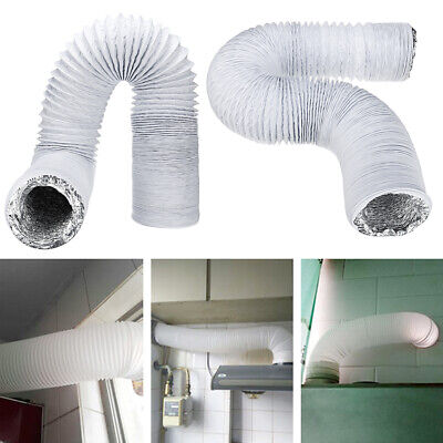 3M 15cm Dia Exhaust Hose PVC Flexible Ducting Air Conditioner Exhaust Hose