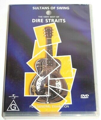 SULTAN OF SWING. THE VERY BEST OF DIRE STRAITS Music DVD PAL Region 2 3 4 5 6