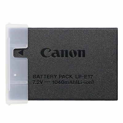 Genuine LP-E17 Battery For Canon EOS 750D 760D M3 M5 M6 Rebel T6i T6S X8i LC-E17