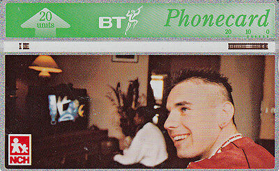 British TELECOM  Phonecard 20 units NCH  268B