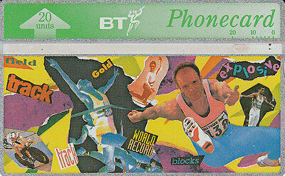 British TELECOM  Phonecard 20 units World record  328B