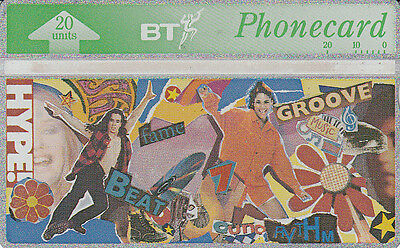 British TELECOM  Phonecard 20 units Hype 328K