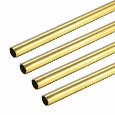 4PCS 3mm x 3.5mm x 500mm Brass Pipe Tube Round Bar Rod for RC Boat