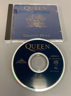Queen - Greatest Hits II CD (1991, Rock Sammlung)